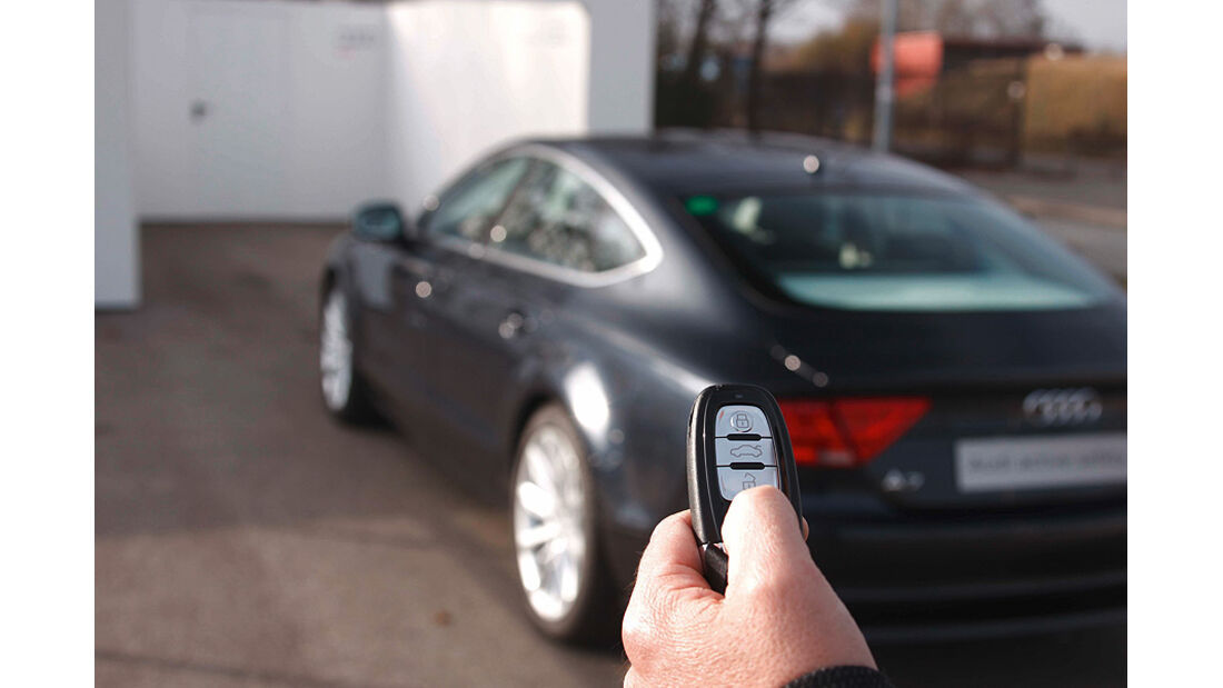 Audi Assistenzsysteme, Parkpilot