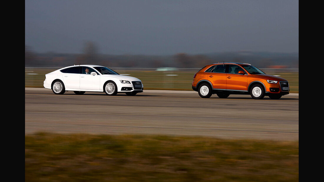 Audi Assistenzsysteme, Stauassistent