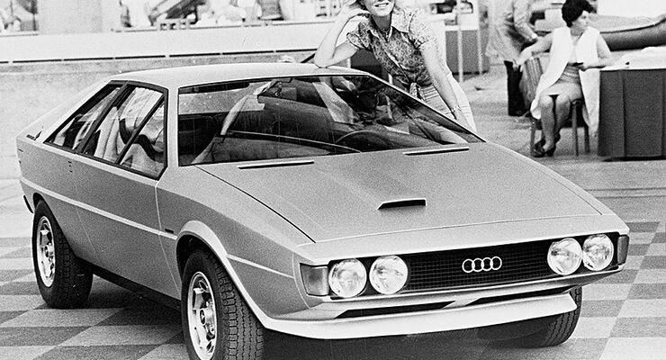Audi Asso Italdesign Studie