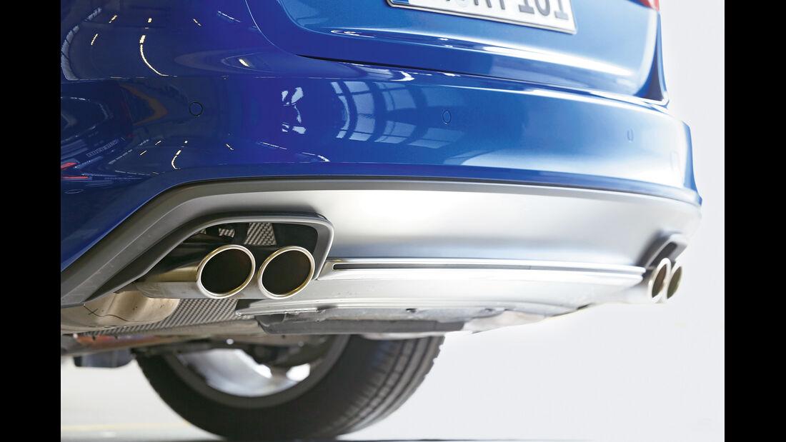 Audi Avant 3.0 TFSI, Auspuff, Endrohre
