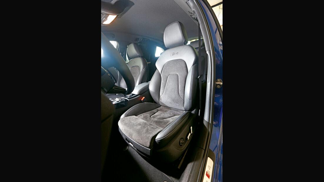 Audi Avant 3.0 TFSI, Fahrersitz