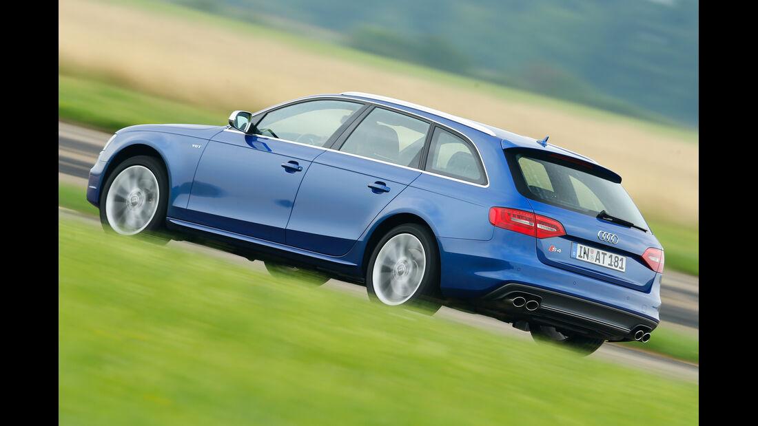 Audi Avant 3.0 TFSI, Heckansicht