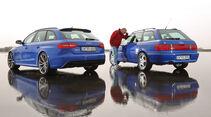 Audi Avant RS2, Audi RS4 Avant, Heckansicht