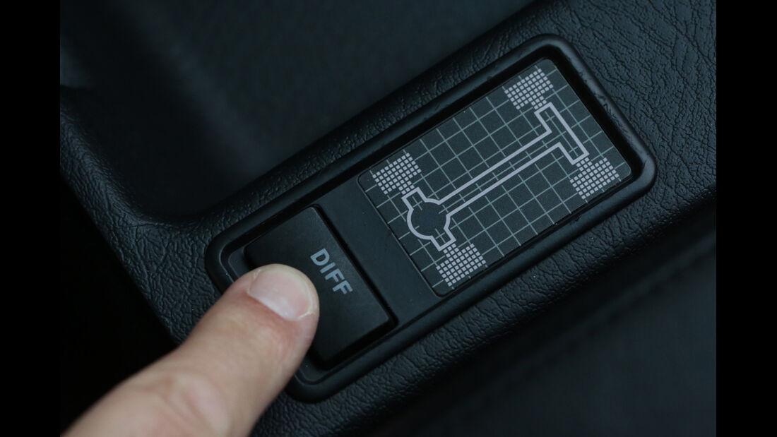 Audi Avant RS2, Bedienelement
