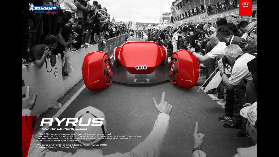 Audi Ayrus - Le Mans 2030 - Michelin Challenge Design - Motorsport