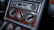 Audi Cabriolet 2.0E, Mittelkonsole
