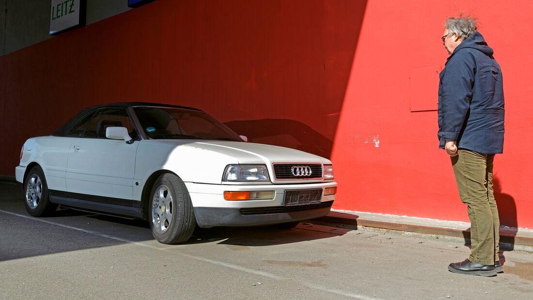 Audi Cabriolet 2.3 E, Cabrios vom Kiesplatz