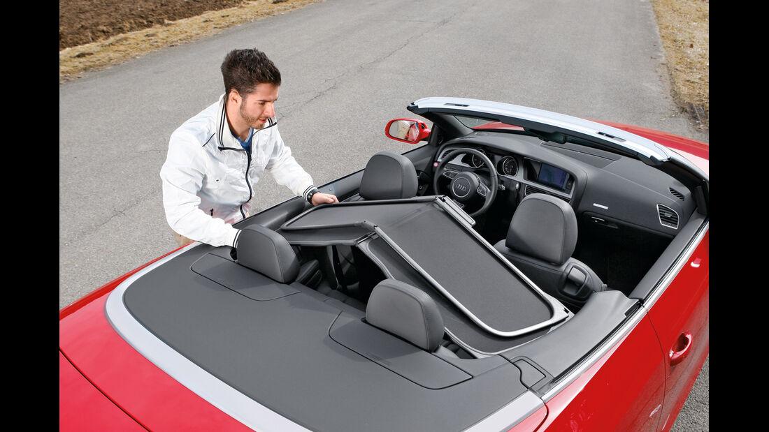 Audi Cabriolet 3.0 TFSI Quattro, Abdeckung