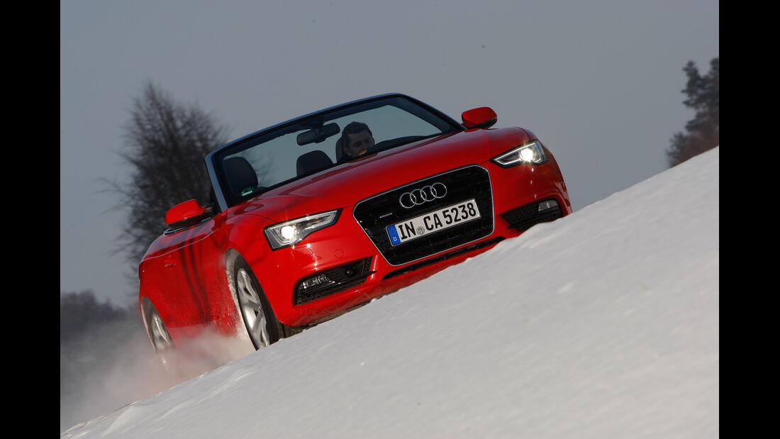 Audi Cabriolet 3.0 TFSI Quattro, Frontansicht