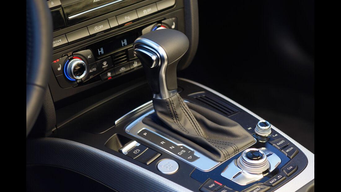 Audi Cabriolet 3.0 TFSI Quattro, Schalthebel, Schaltknauf