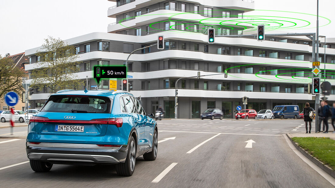 Audi Car-to-X-Systeme