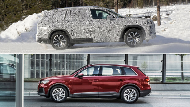 Audi China-SUV und Audi Q7