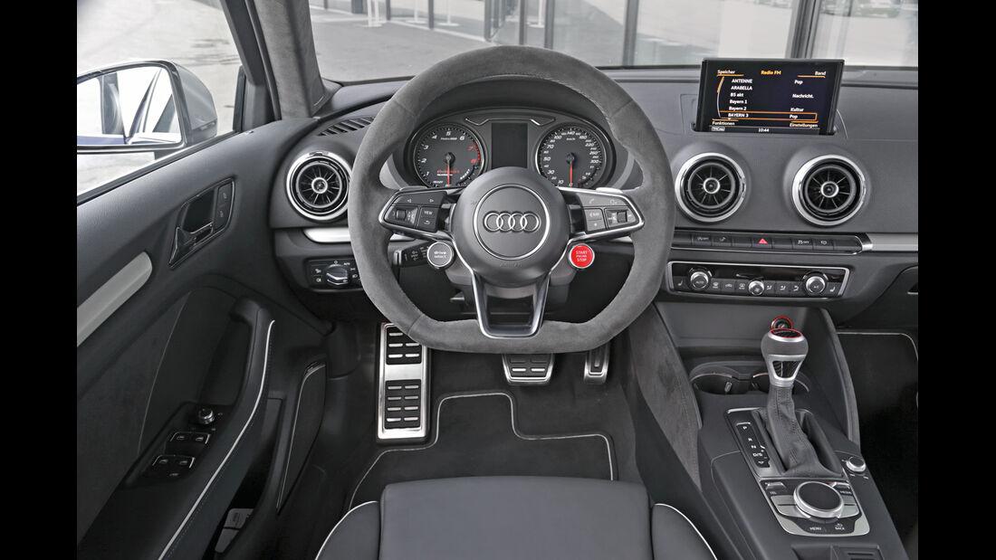 Audi Clubsport Quattro Concept, Cockpit