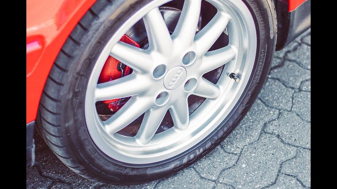 Audi Coupé,  Exterieur