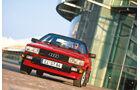 Audi Coupé, Frontansicht
