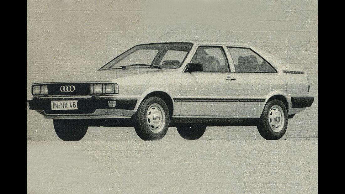 Audi, Coupé GL, IAA 1981