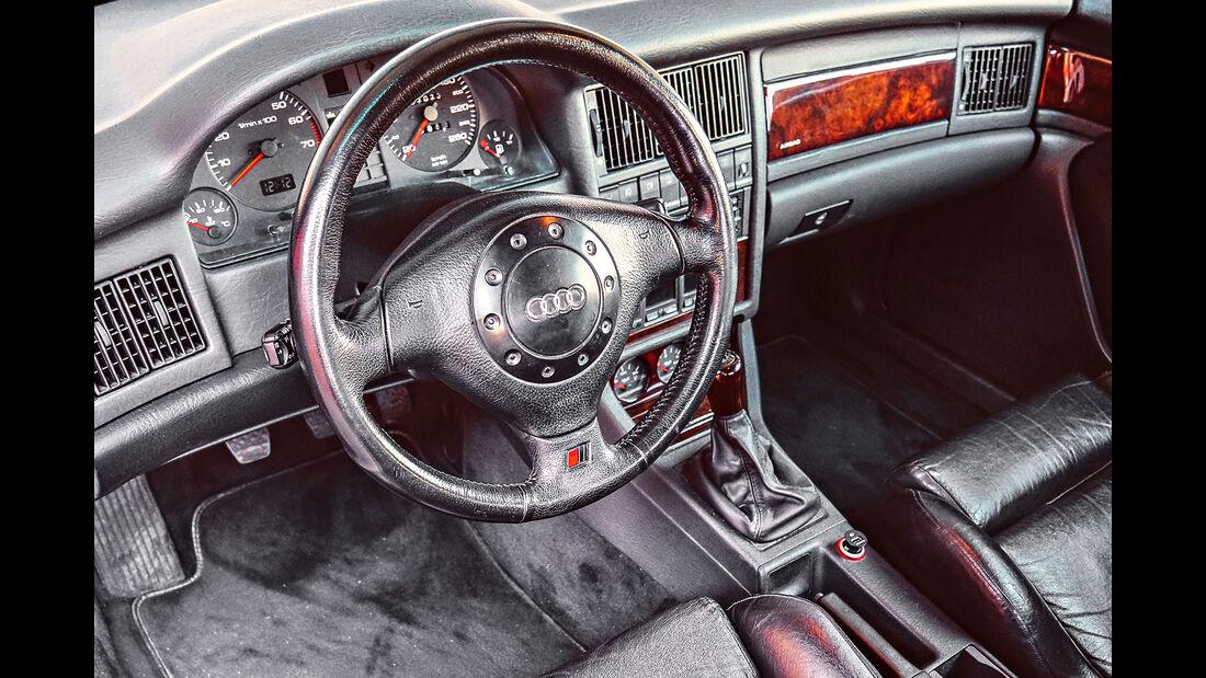 Audi Coupé, Interieur