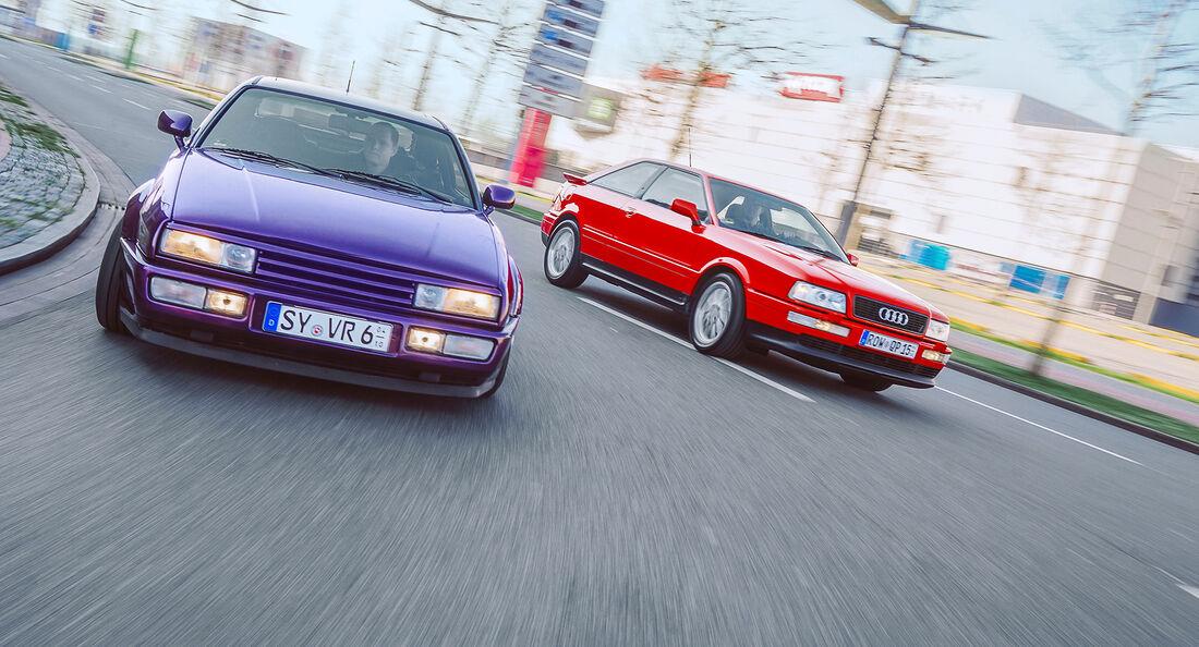 Audi Coupé, VW Corrado, Exterieur