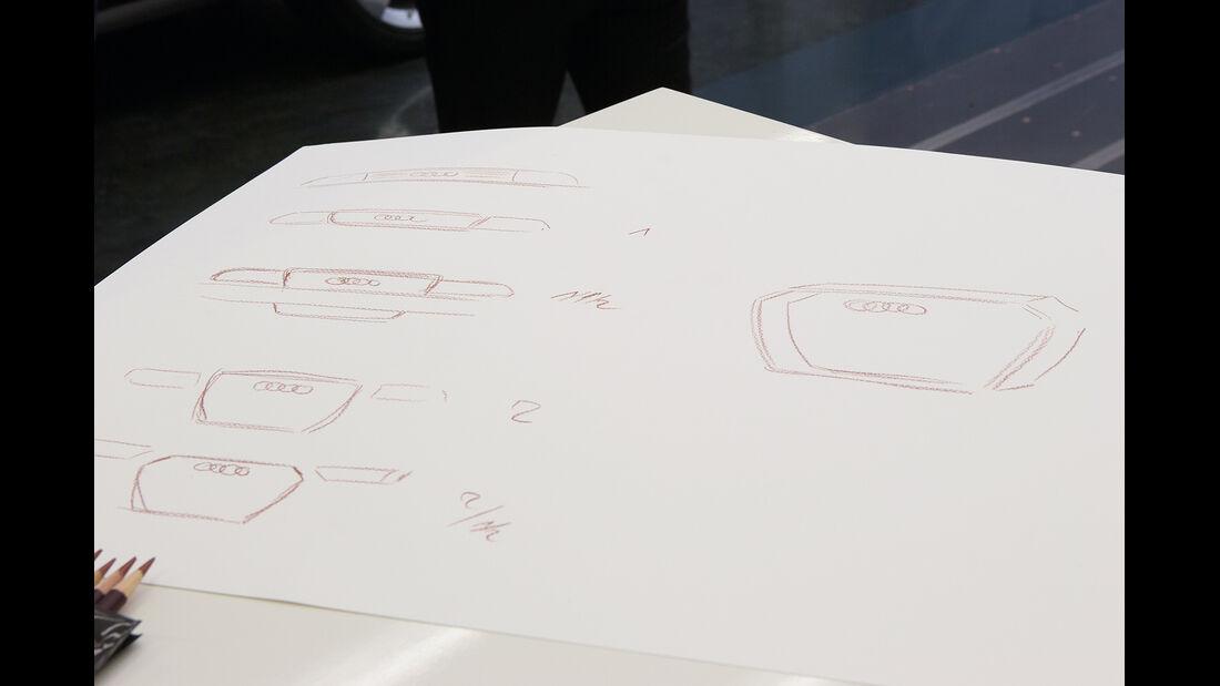 Audi Crosslane, Design, Skizzen