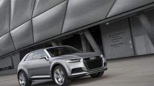 Audi Crosslane, Frontansicht