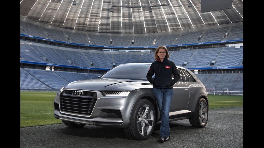 Audi Crosslane, Frontansicht, Birgit Priemer