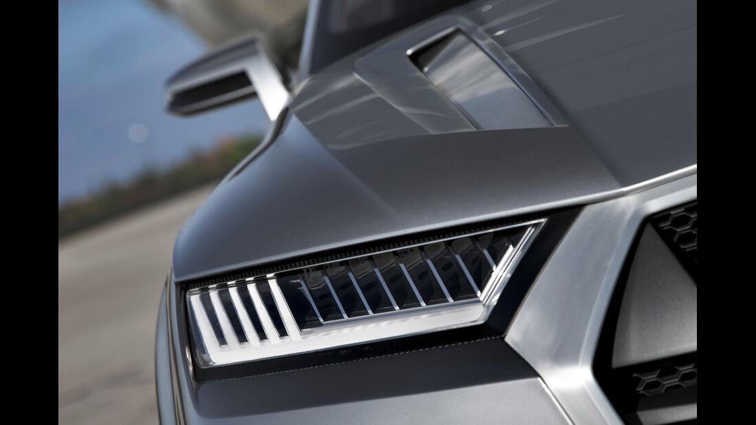 Audi Crosslane, Frontscheinwerfer