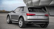 Audi Crosslane, Heckansicht
