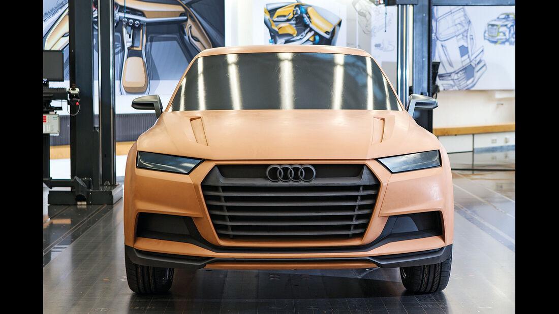 Audi Crosslane, Rohnbau
