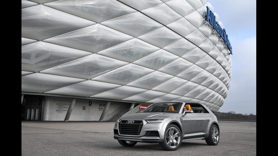 Audi Crosslane, Seitenansicht