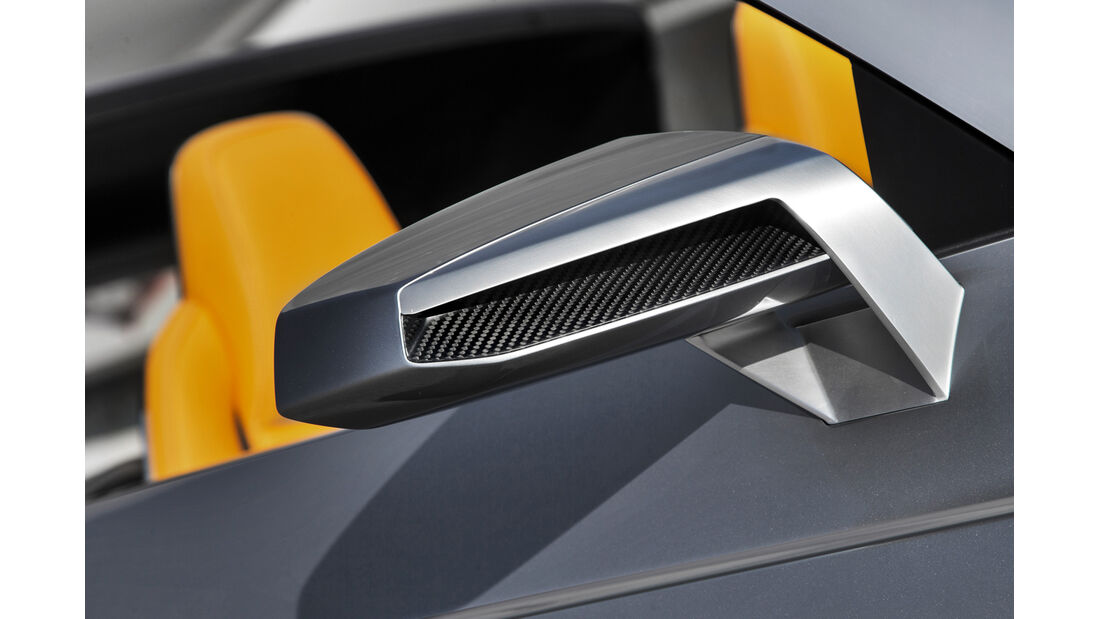 Audi Crosslane, Seitenspiegel