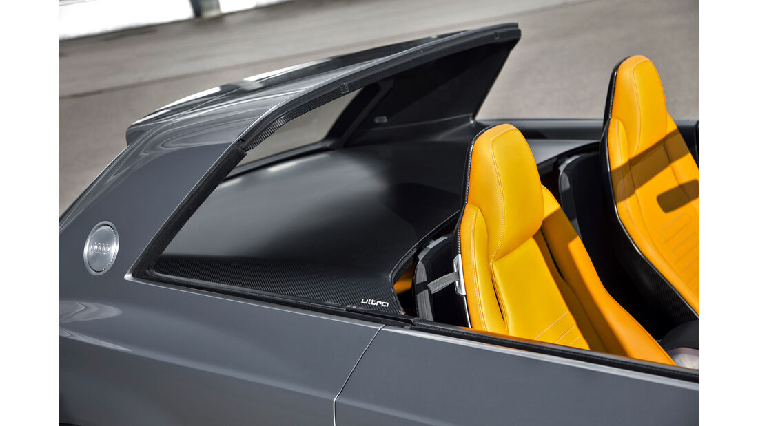 Audi Crosslane, Sitze, b-Säule