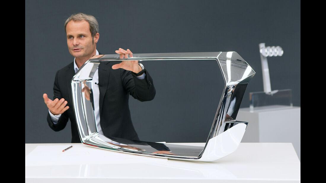 Audi Crosslane, Wolfgang Egger