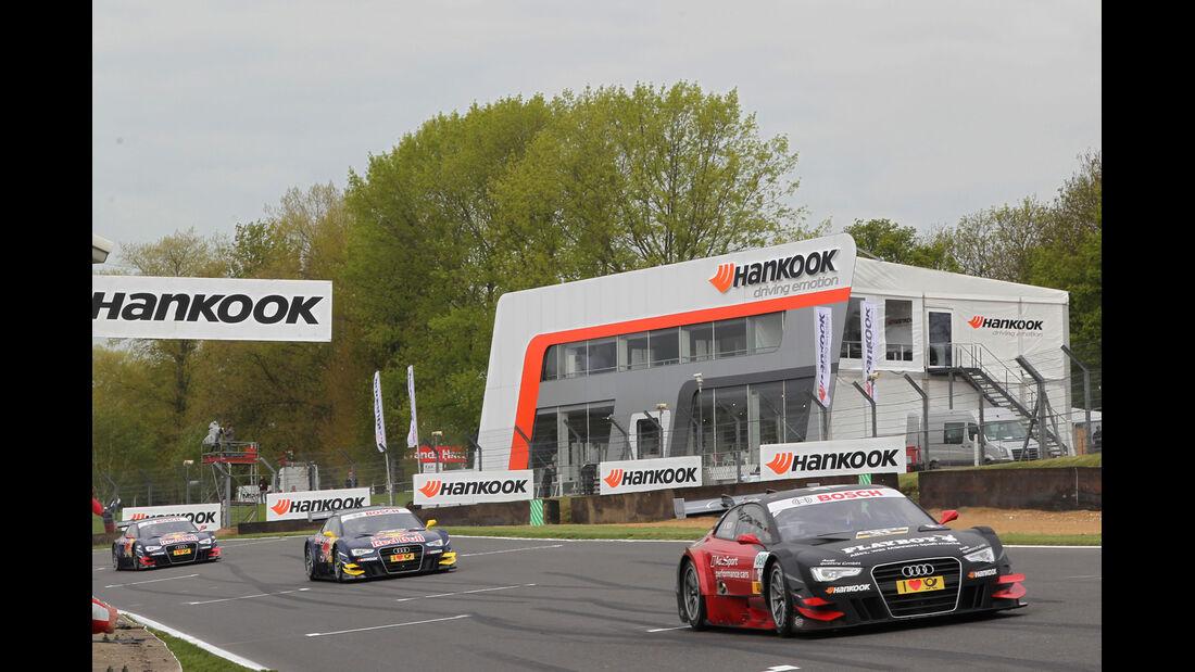 Audi DTM Brands Hatch 2012