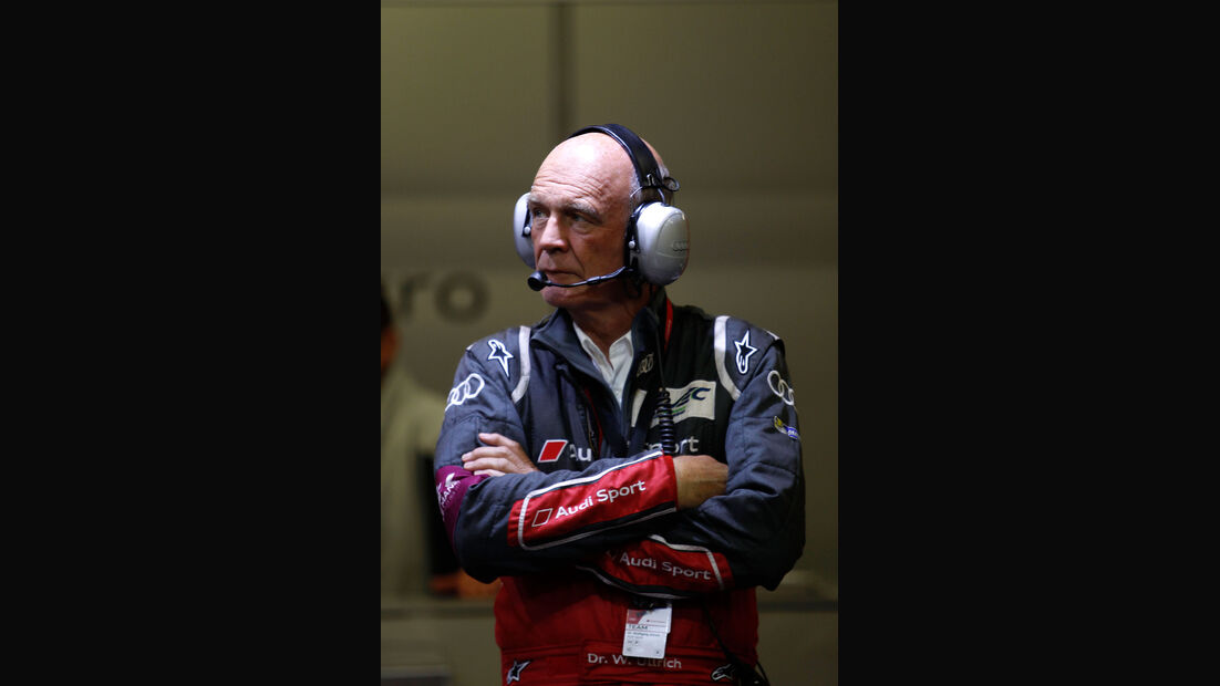 Audi - Dr. Wolfgang Ullrich - 24h Rennen Le Mans - 1. Qualifying - Mittwoch - 10.6.2015