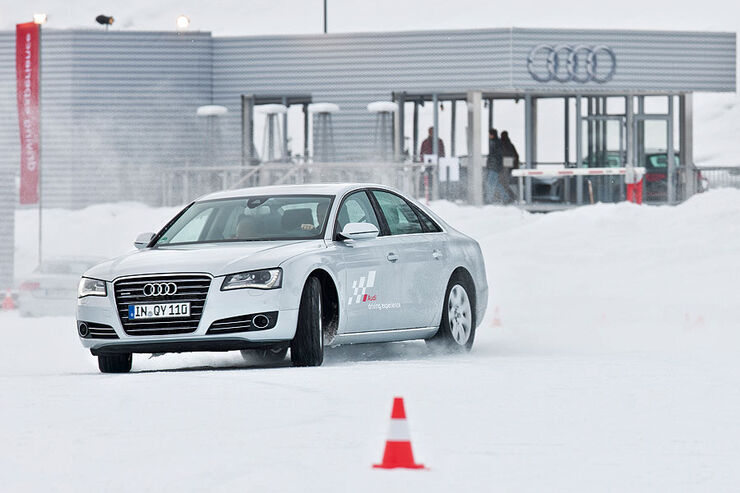 Audi Driving Experience, Audi A8