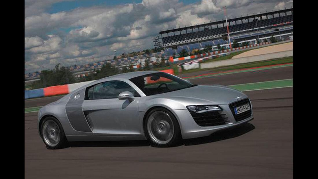 Audi Driving Experience, Audi R8