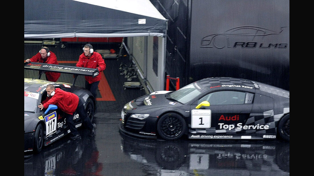 Audi Driving Experience, Audi R8 LMS
