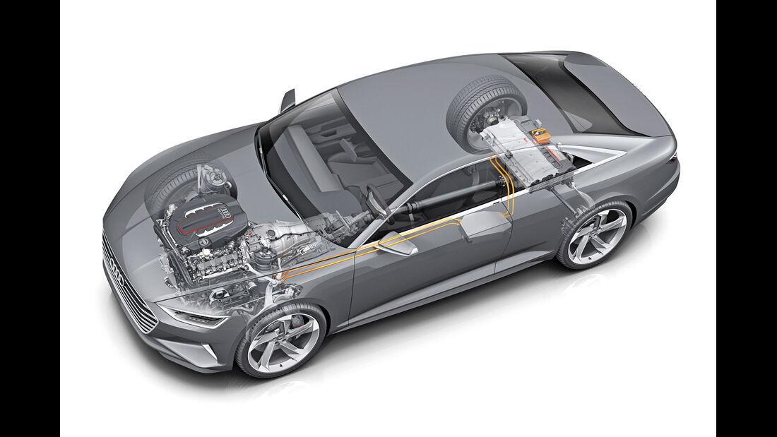 Audi, Durchsicht