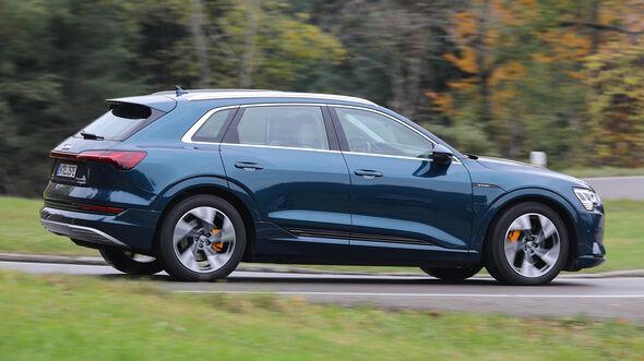 Audi E-Tron 55 Quattro Advanced, Exterieur