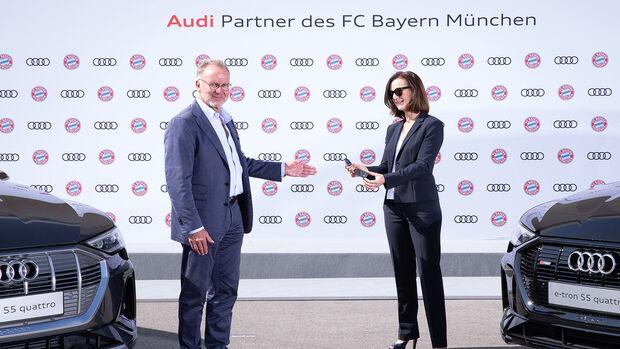 Audi E-Tron 55 Quattro FC Bayern München