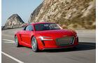 Audi E-Tron, Frontansicht