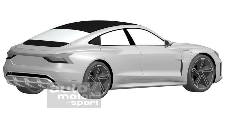 Audi E Tron Gt 2020 Elektrosportwagen Mit Taycan Technik