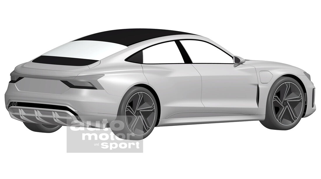 Audi E Tron Gt 2020 Elektrosportwagen Mit Taycan Technik Auto