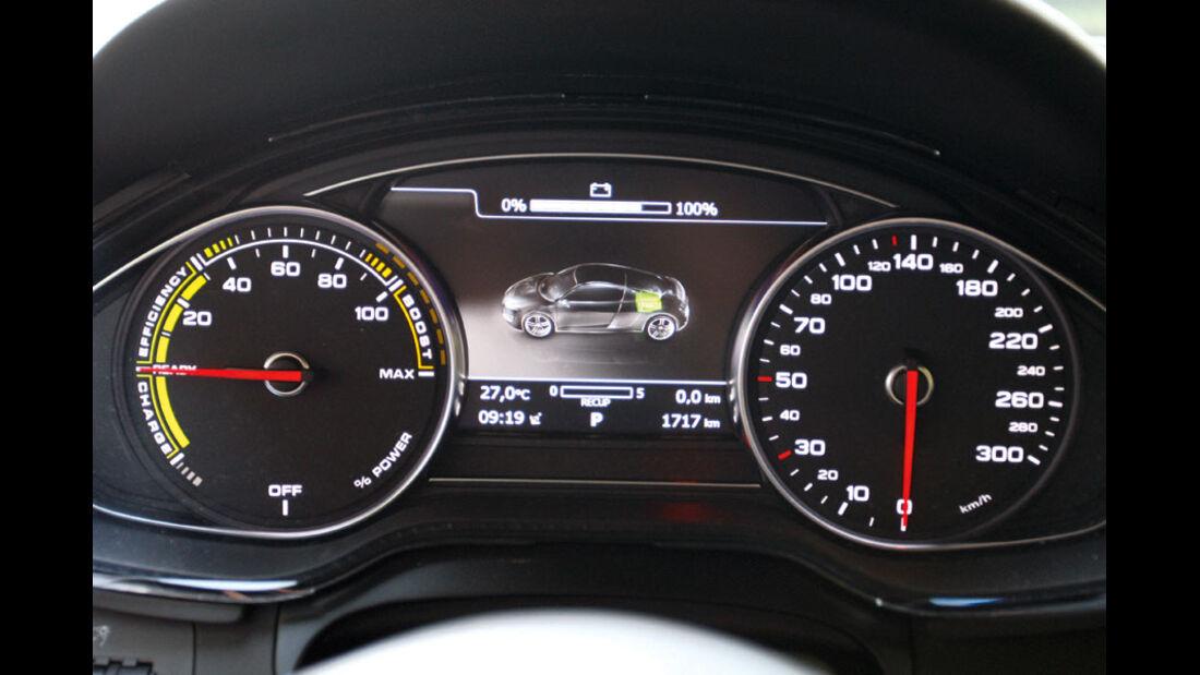 Audi E-Tron, Instrumente