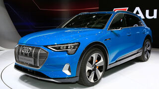 Audi E-Tron Paris Auto Show 2018