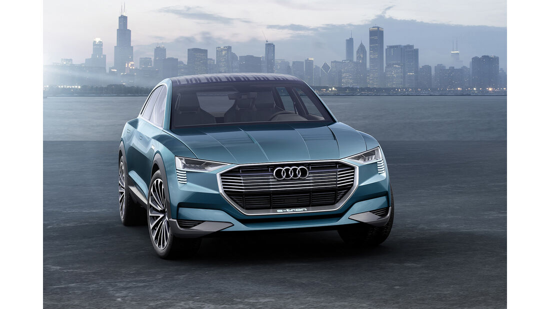 Audi E-Tron Quattro Concept, 09/15, IAA