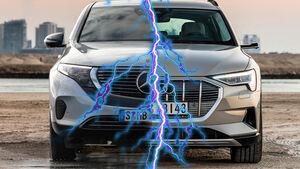 Audi E-Tron Quattro Mercedes EQC Vergleich Elektro-SUV