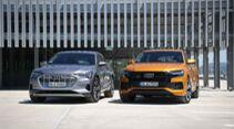 Audi E-Tron Sportback 55 oder Q8 50 TDI