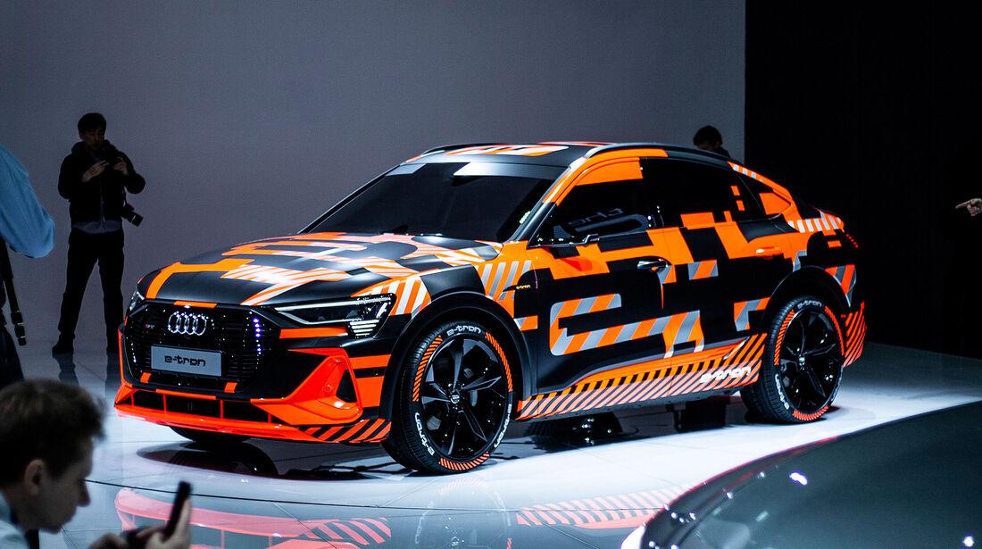 Audi E-Tron Sportback Werks-Erlkönig