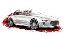 Audi E-Tron Spyder, Designskizze